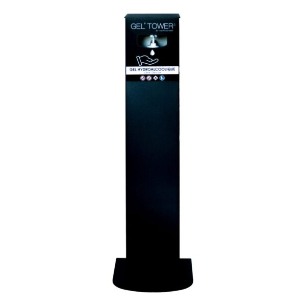 Gel Tower - Noir Sablé